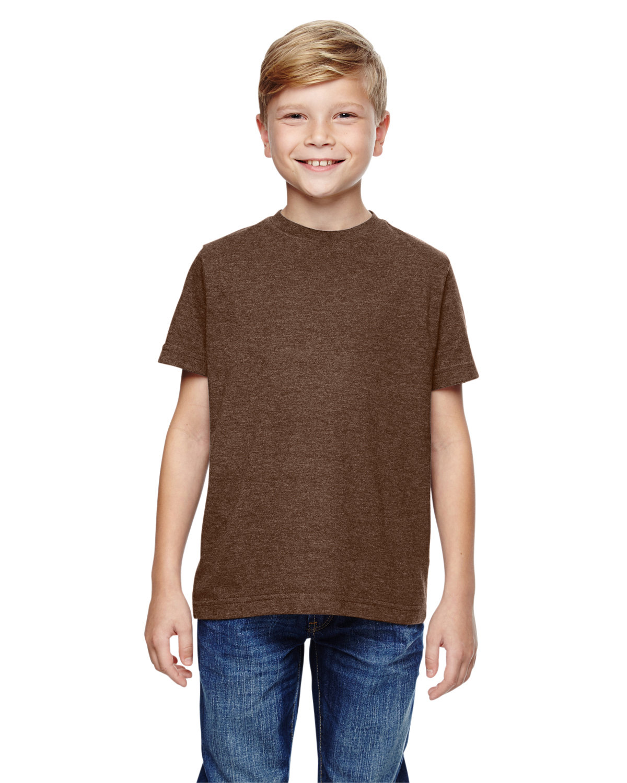 LAT Youth Fine Jersey T-Shirt VINT CHOCOLATE