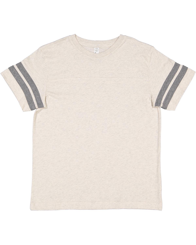 LAT Youth Football Fine Jersey T-Shirt NAT HTH/ GRAN HT