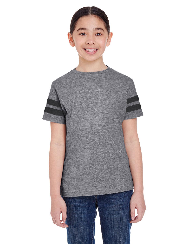 LAT Youth Football Fine Jersey T-Shirt GRAN HTH/ VN SMK
