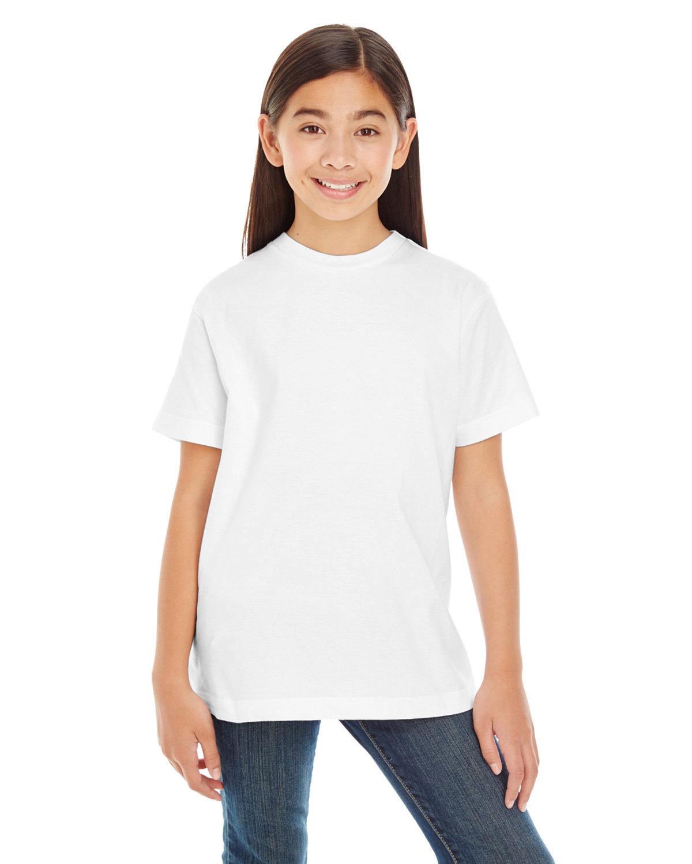 LAT Youth Premium Jersey T-Shirt WHITE