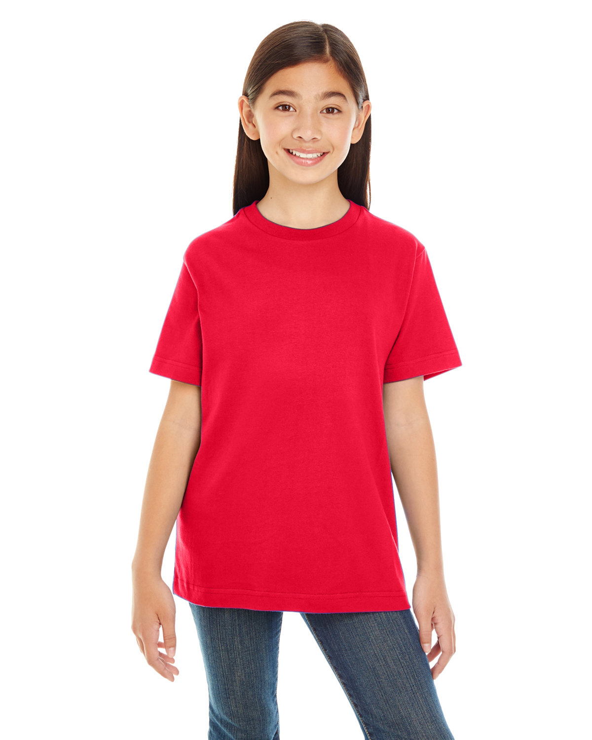 LAT Youth Premium Jersey T-Shirt RED