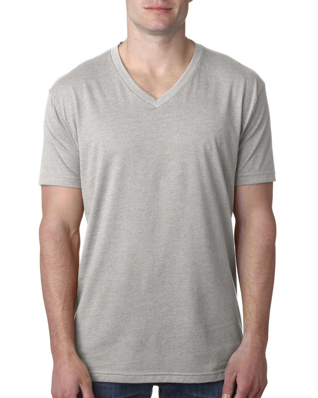 Next Level Men's CVC V-Neck T-Shirt SILK
