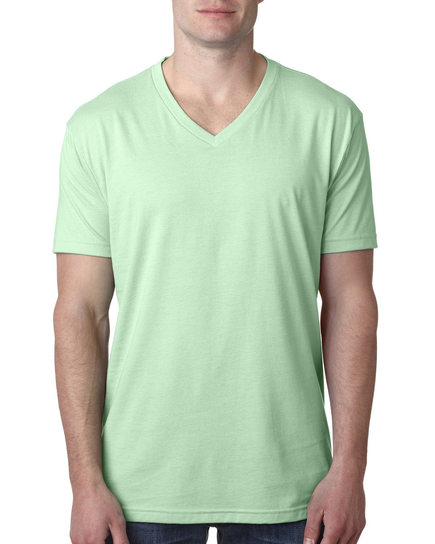 Next Level Men's CVC V-Neck T-Shirt MINT