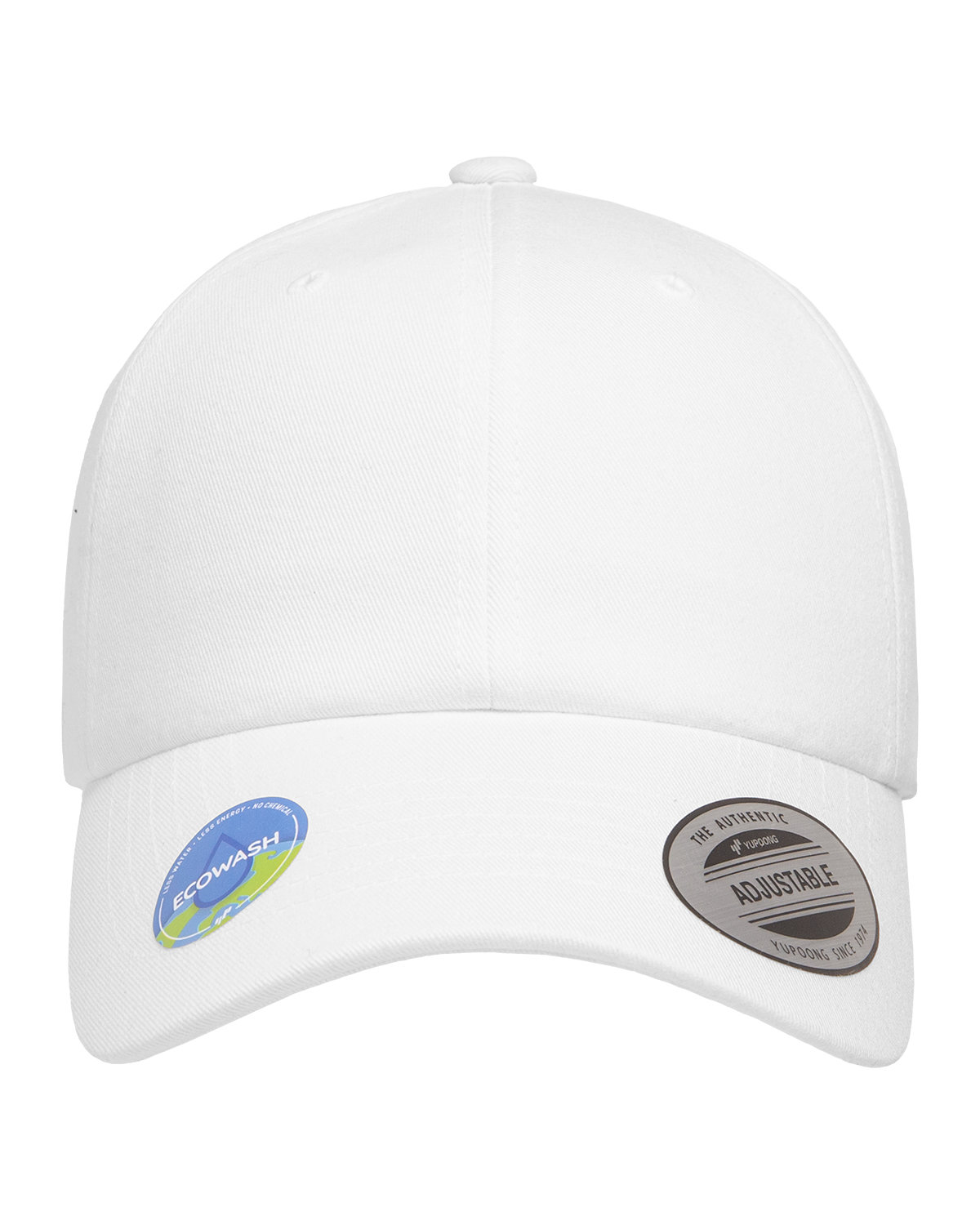 Yupoong Classic Dad Cap WHITE