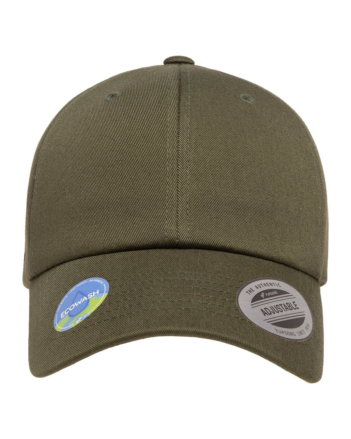 Yupoong Classic Dad Cap OLIVE NIGHT