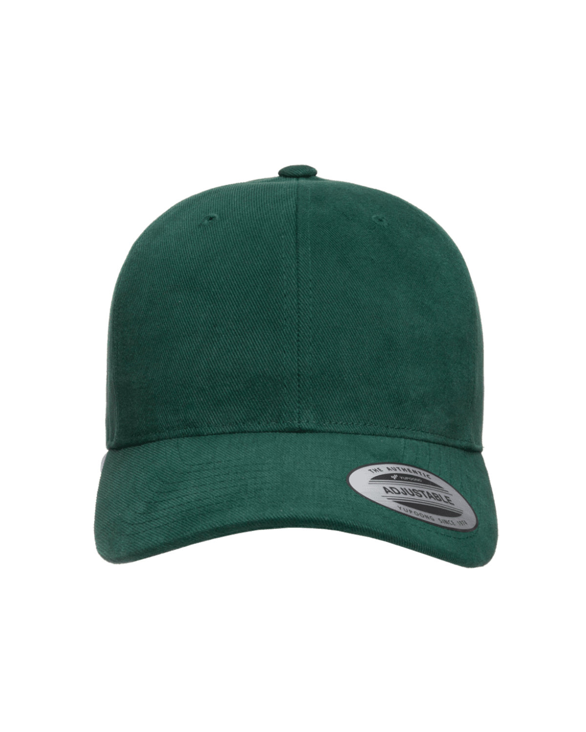Yupoong Adult Brushed Cotton Twill Mid-Profile Cap SPRUCE