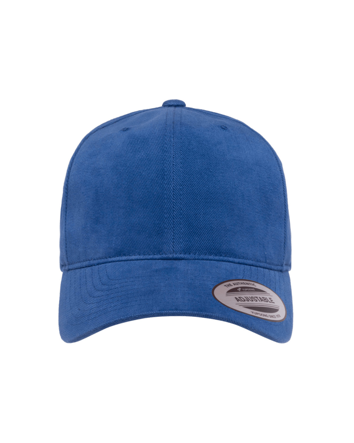 Yupoong Adult Brushed Cotton Twill Mid-Profile Cap ROYAL