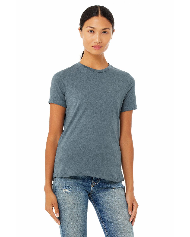 Bella + Canvas Ladies' Relaxed Heather CVC Short-Sleeve T-Shirt HEATHER SLATE