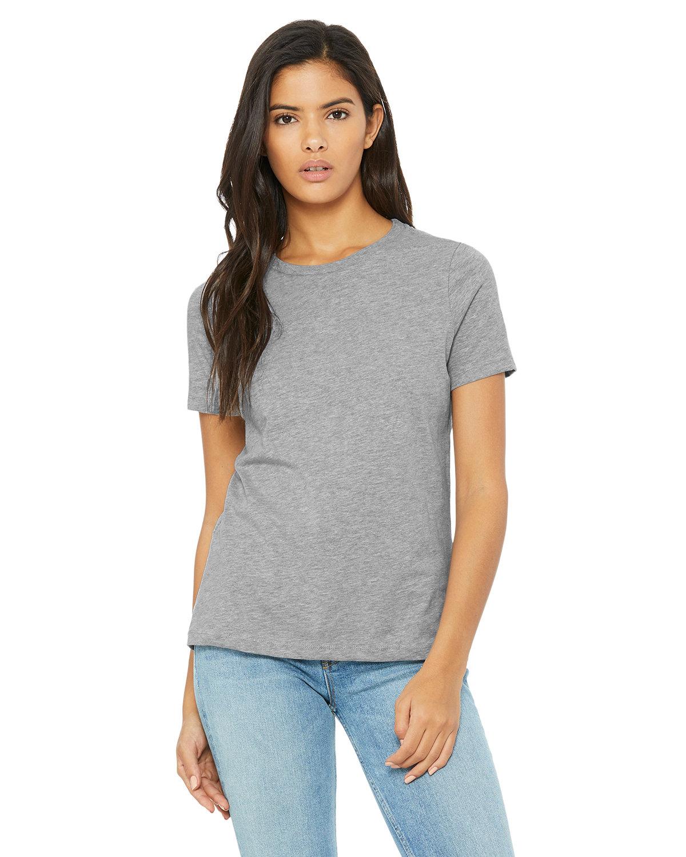 Bella + Canvas Ladies' Relaxed Heather CVC Short-Sleeve T-Shirt ATHLETIC HEATHER