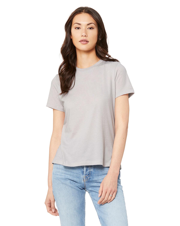 Bella + Canvas Ladies' Relaxed Heather CVC Short-Sleeve T-Shirt HEATHR COOL GREY