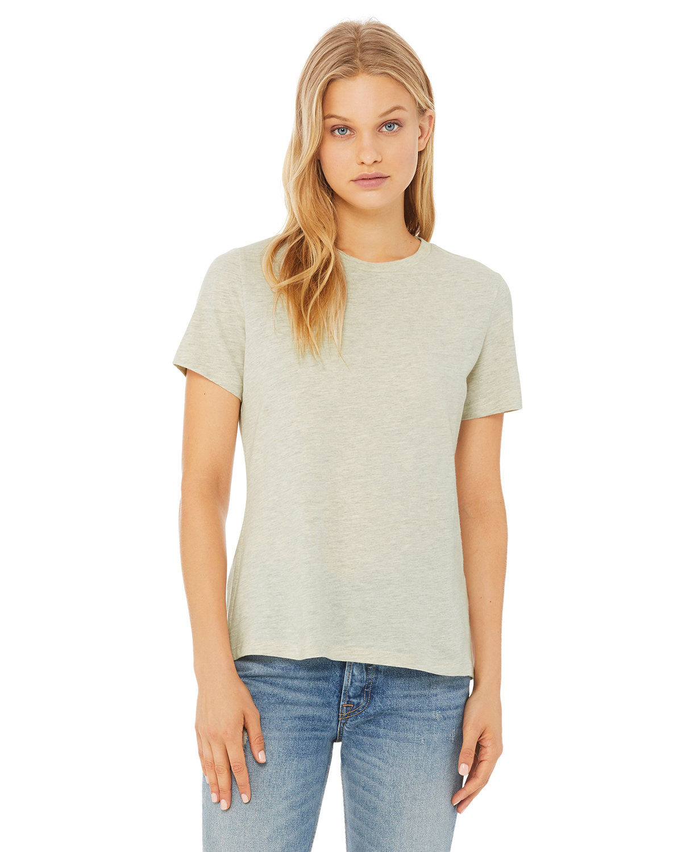 Bella + Canvas Ladies' Relaxed Heather CVC Short-Sleeve T-Shirt HTHR PRSM NATURL