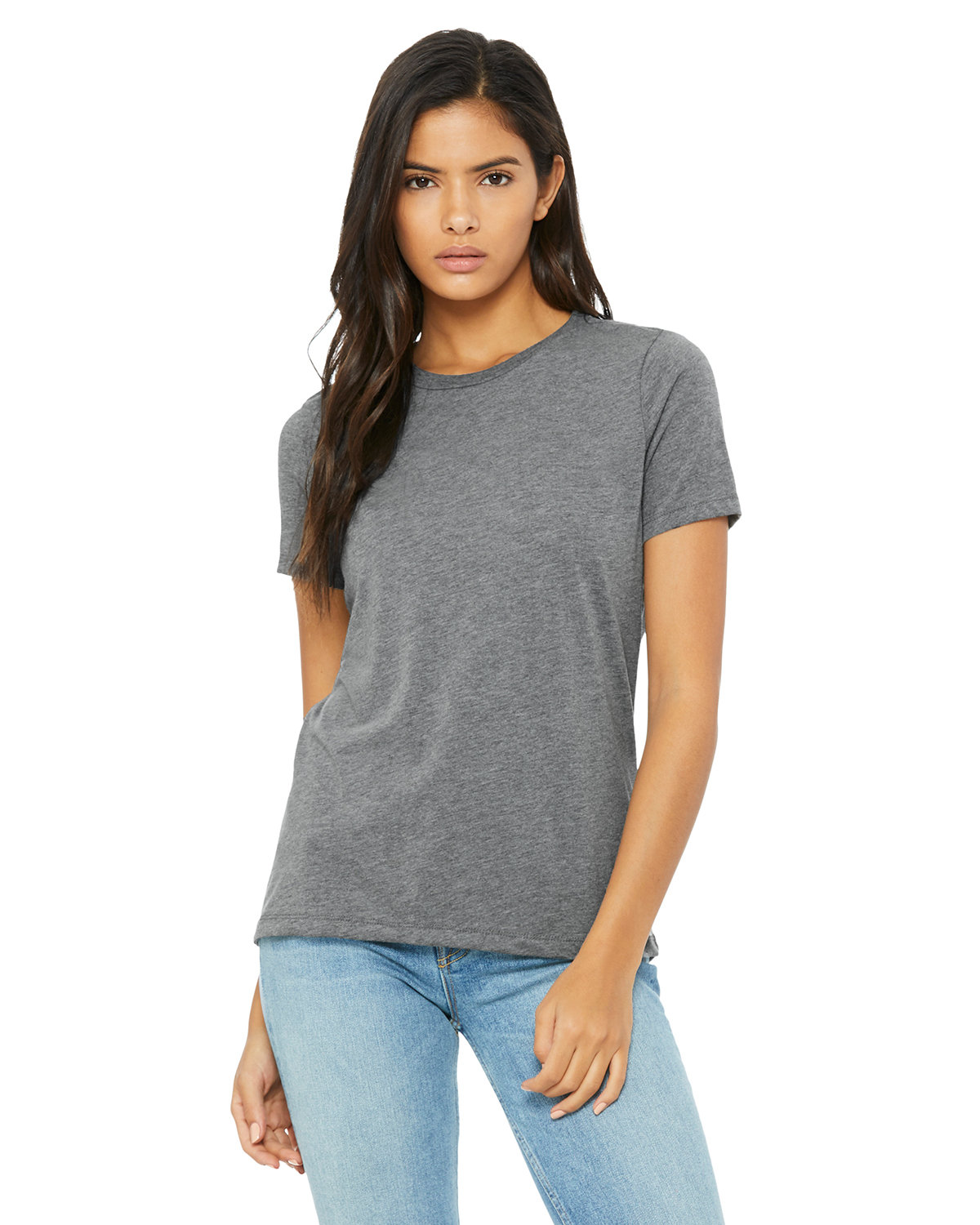 Bella + Canvas Ladies' Relaxed Triblend T-Shirt GREY TRIBLEND