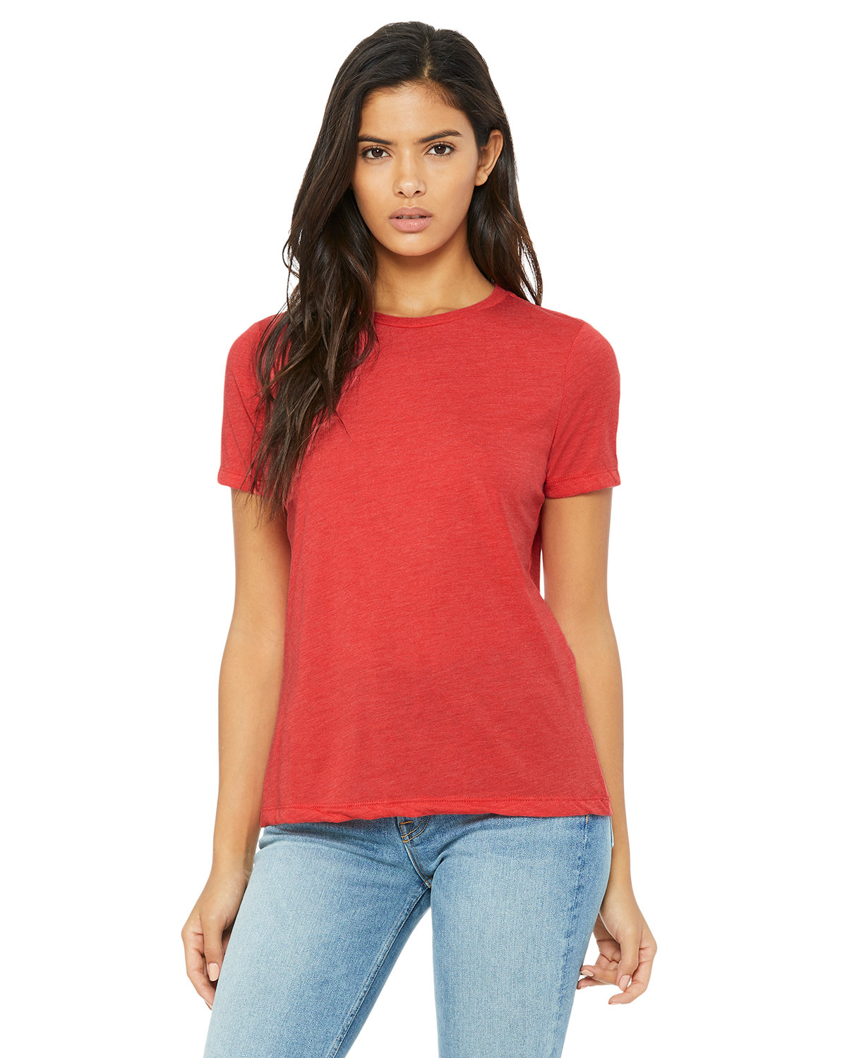 Bella + Canvas Ladies' Relaxed Triblend T-Shirt RED TRIBLEND