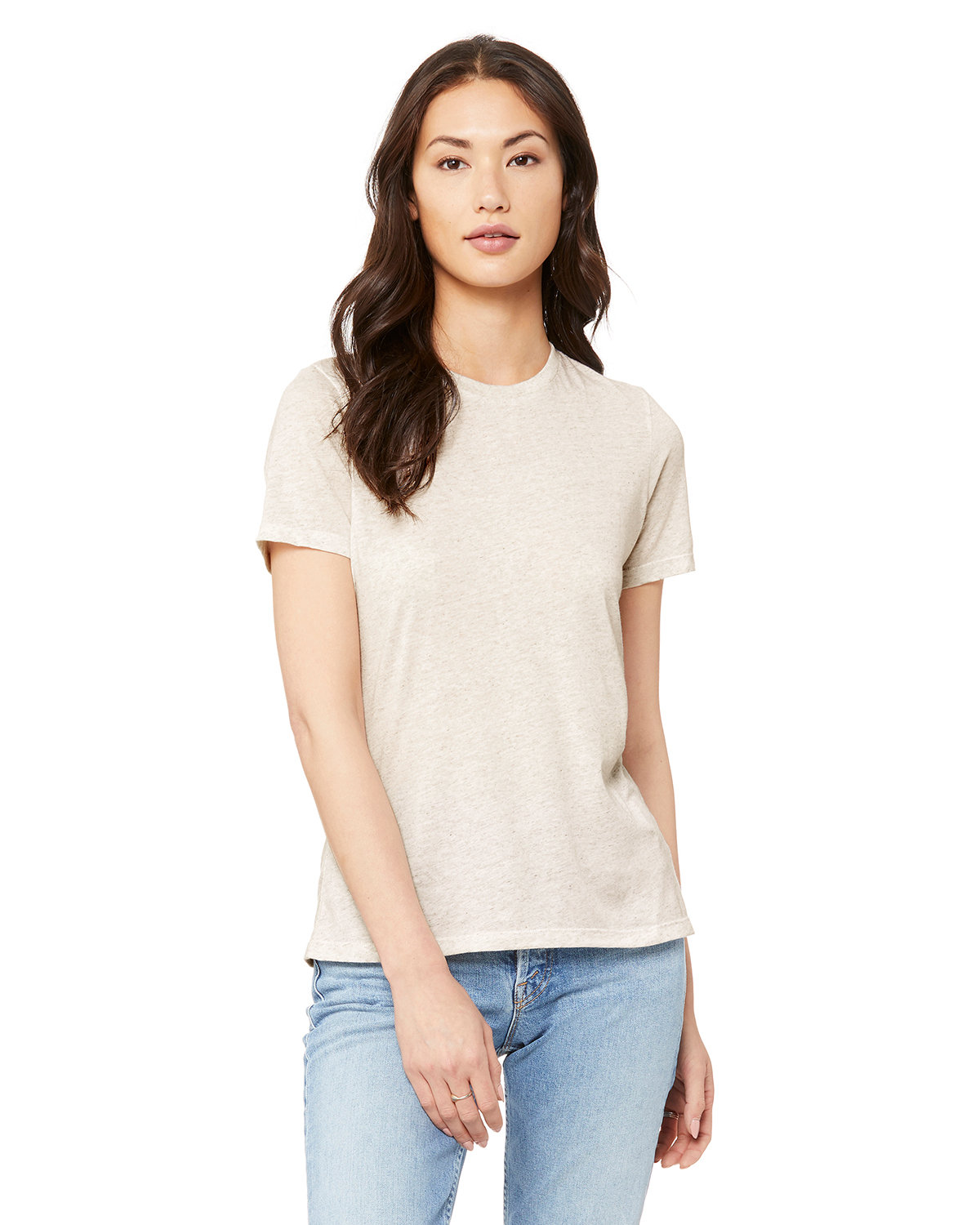 Bella + Canvas Ladies' Relaxed Triblend T-Shirt OATMEAL TRIBLEND
