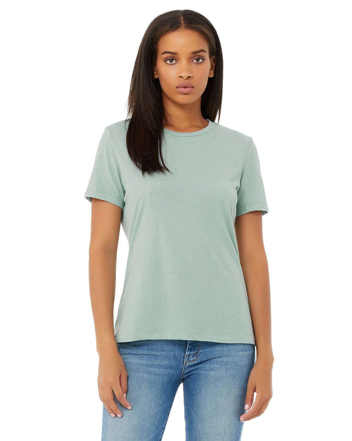 Bella + Canvas Ladies' Relaxed Triblend T-Shirt DUSTY BLU TRBLND
