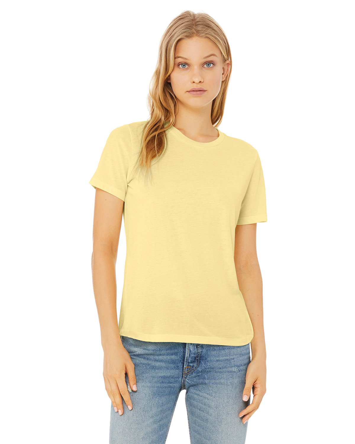 Bella + Canvas Ladies' Relaxed Triblend T-Shirt PALE YLW TRBLND