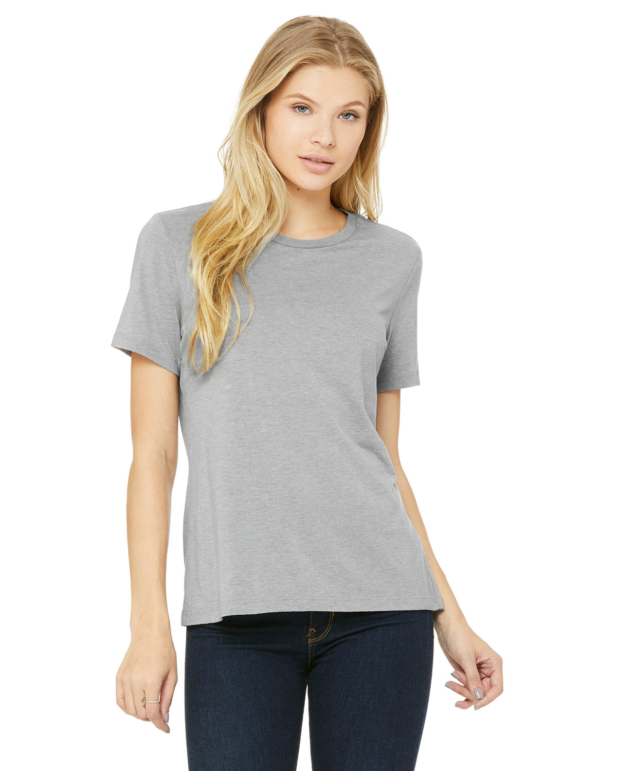 Bella + Canvas Ladies' Relaxed Triblend T-Shirt ATH GREY TRBLND