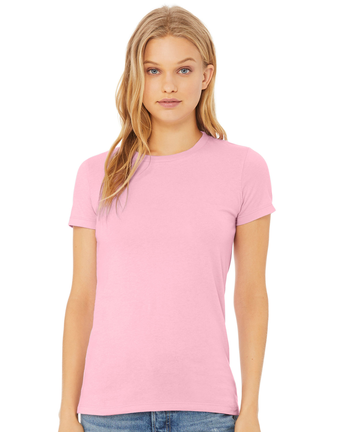 Bella + Canvas Ladies' Relaxed Triblend T-Shirt PINK TRIBLEND