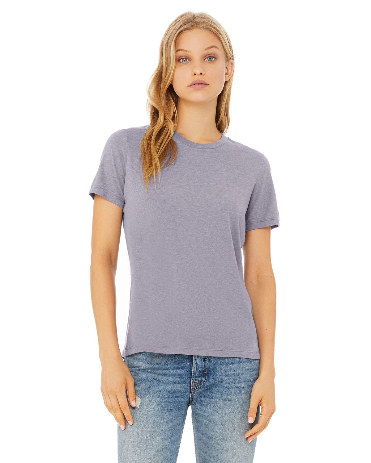 Bella + Canvas Ladies' Relaxed Triblend T-Shirt STORM TRIBLEND