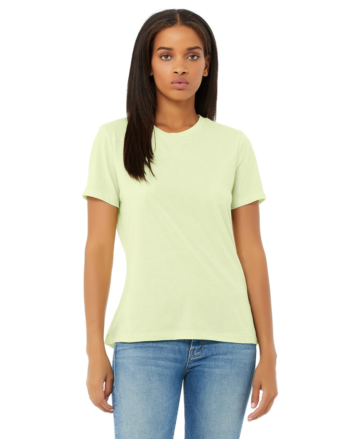 Bella + Canvas Ladies' Relaxed Triblend T-Shirt SPRNG GRN TRBLND