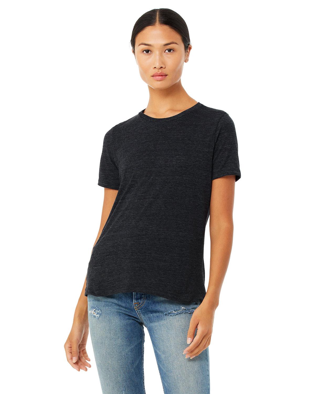 Bella + Canvas Ladies' Relaxed Vintage Slub T-Shirt CHRCOAL BLK SLUB