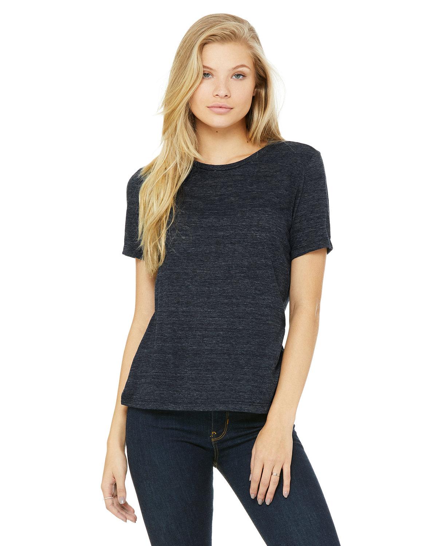Bella + Canvas Ladies' Relaxed Vintage Slub T-Shirt NAVY SLUB