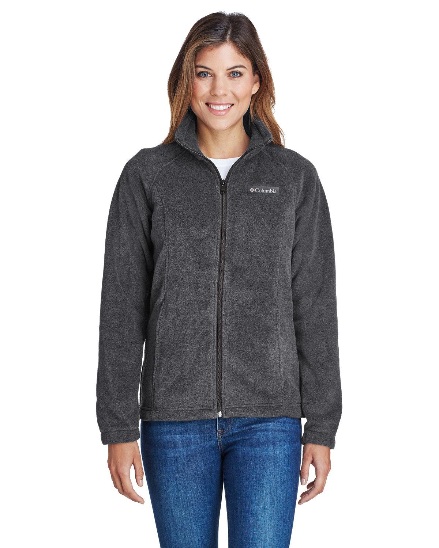 Columbia Ladies' Benton Springs™ Full-Zip Fleece CHARCOAL HTHR