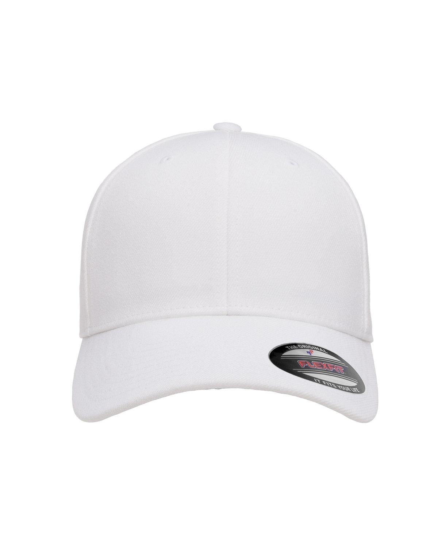 Flexfit Adult Wool Blend Cap WHITE