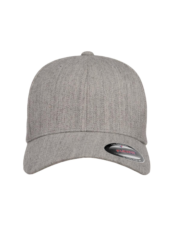 Flexfit Adult Wool Blend Cap HEATHER GREY