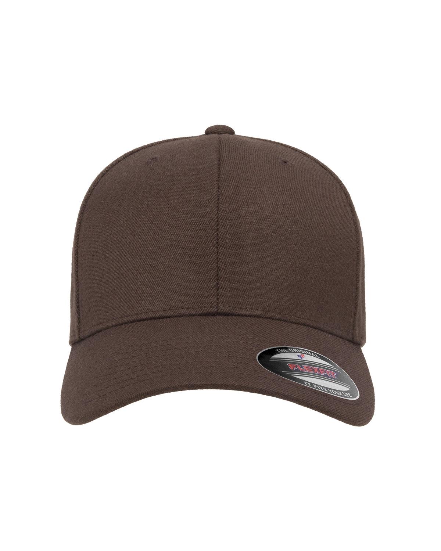 Flexfit Adult Wool Blend Cap BROWN