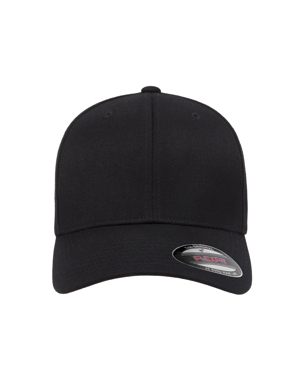 Flexfit Adult Wool Blend Cap BLACK