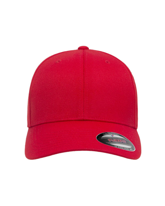 Flexfit Adult Wool Blend Cap RED