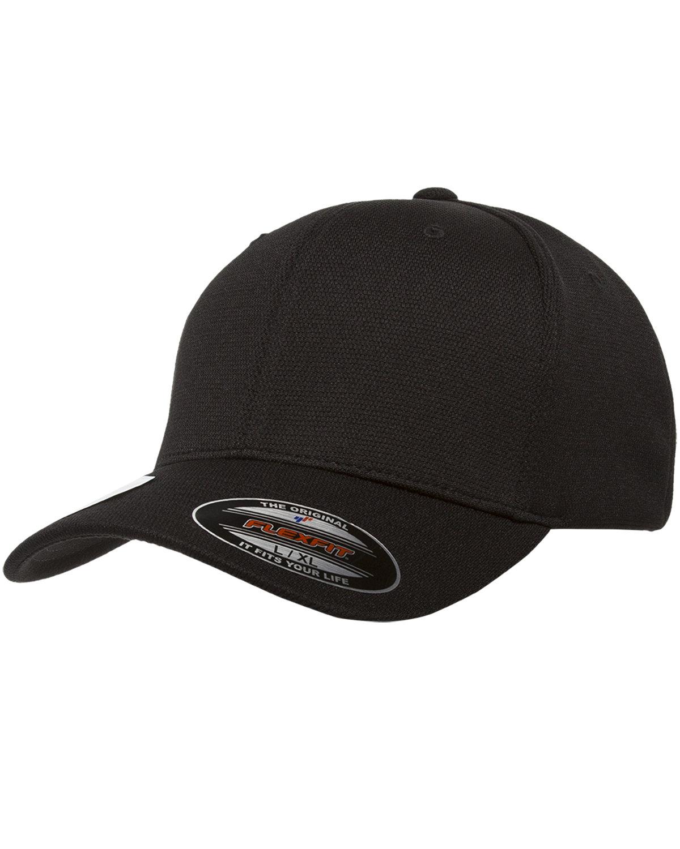 Flexfit Adult Cool & Dry Sport Cap BLACK