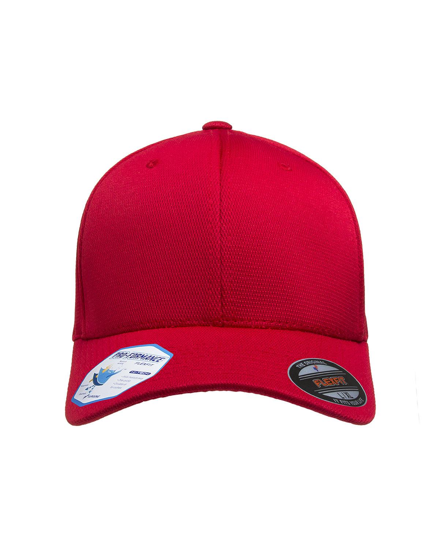 Flexfit Adult Cool & Dry Sport Cap RED