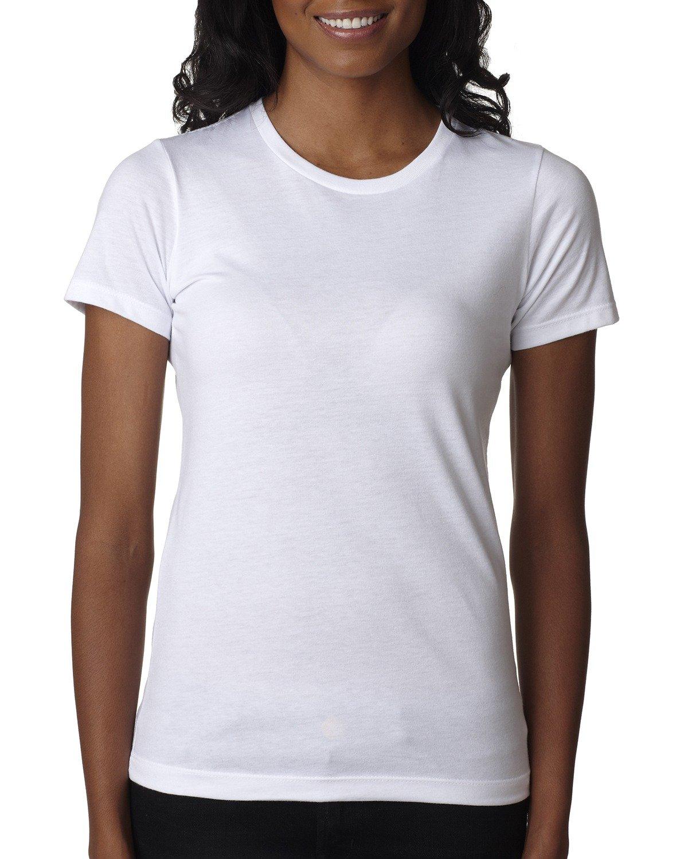 Next Level Ladies' CVC T-Shirt WHITE