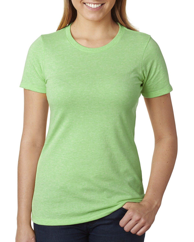 Next Level Ladies' CVC T-Shirt APPLE GREEN