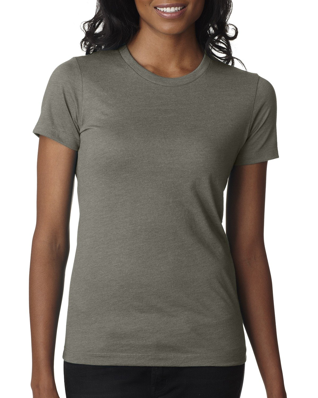 Next Level Ladies' CVC T-Shirt WARM GRAY