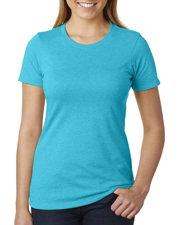 Next Level Ladies' CVC T-Shirt BONDI BLUE