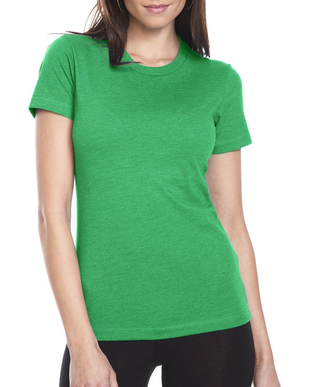 Next Level Ladies' CVC T-Shirt KELLY GREEN