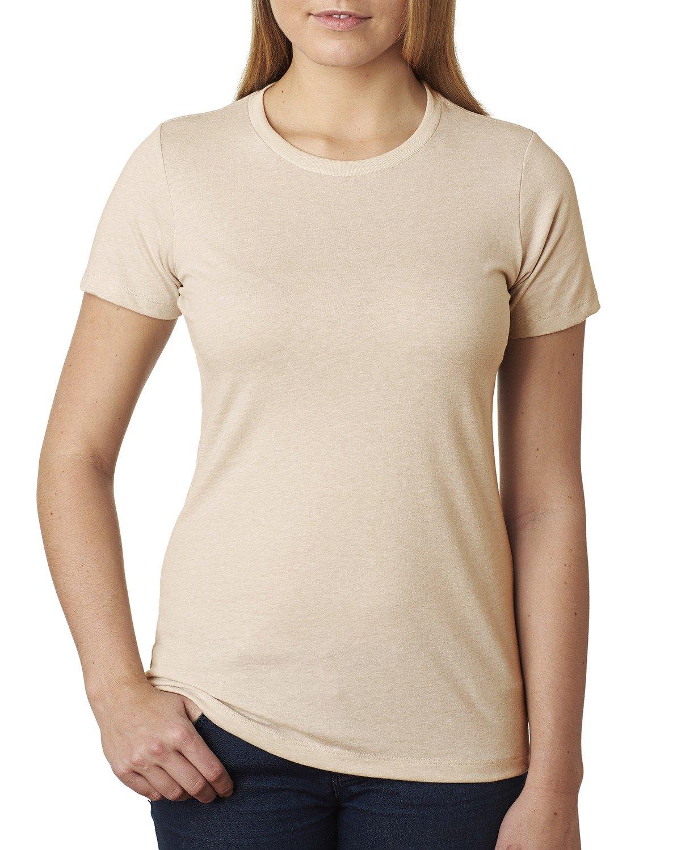 Next Level Ladies' CVC T-Shirt CREAM