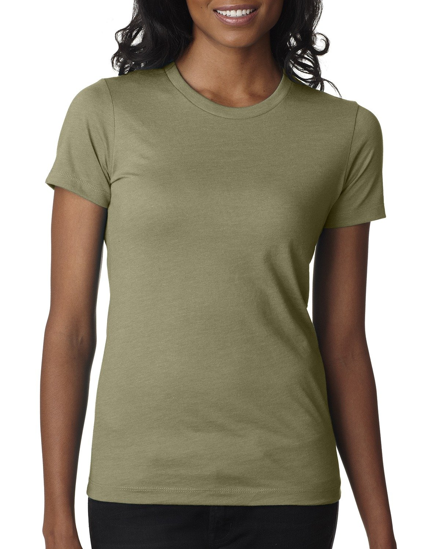 Next Level Ladies' CVC T-Shirt LIGHT OLIVE