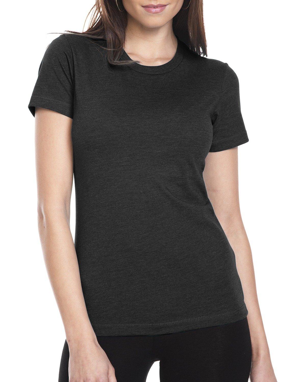 Next Level Ladies' CVC T-Shirt BLACK