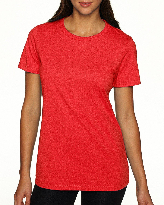 Next Level Ladies' CVC T-Shirt RED