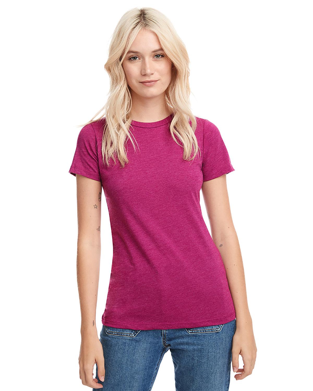 Next Level Ladies' CVC T-Shirt RASPBERRY