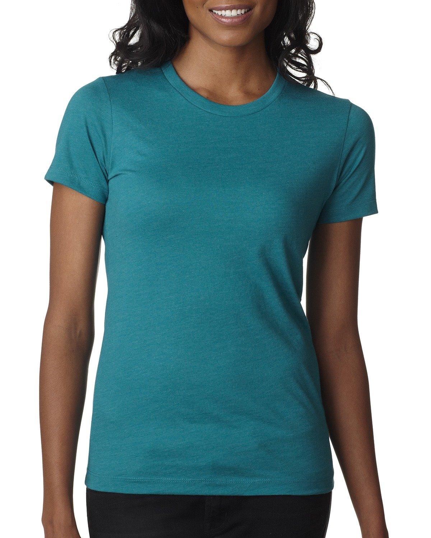 Next Level Ladies' CVC T-Shirt TEAL
