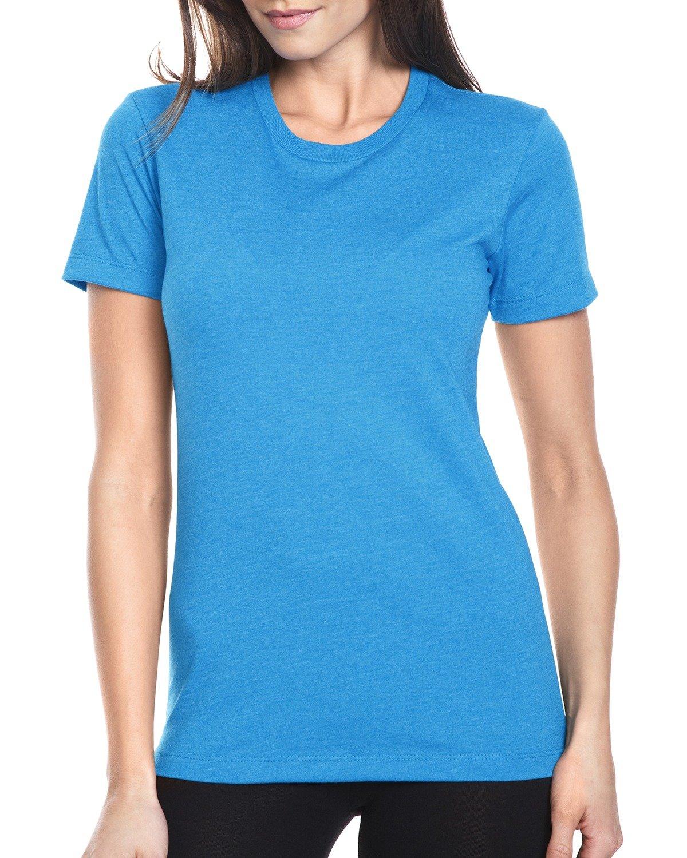 Next Level Ladies' CVC T-Shirt TURQUOISE