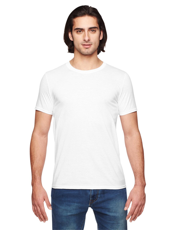 Anvil Adult Triblend T-Shirt WHITE