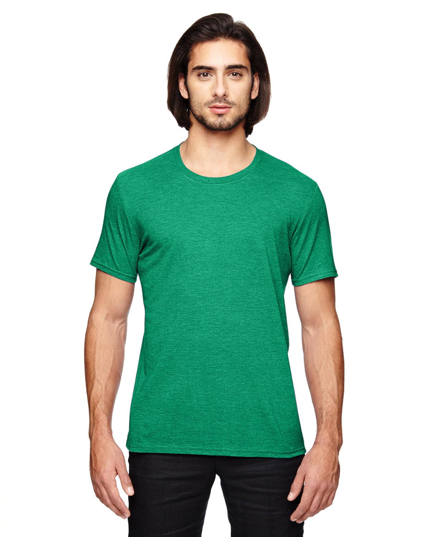 Anvil Adult Triblend T-Shirt HEATHER GREEN