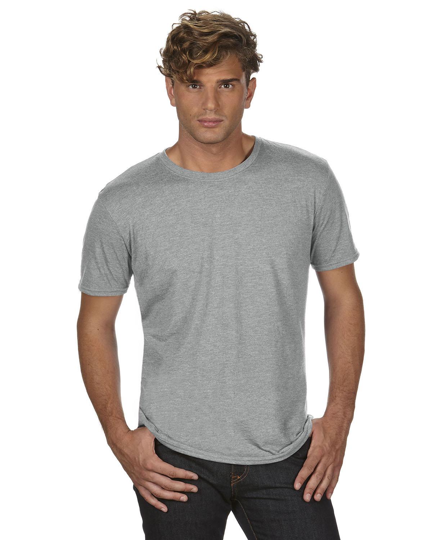 Anvil Adult Triblend T-Shirt HEATHER GREY