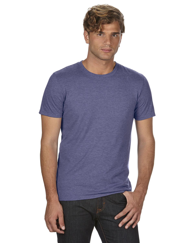Anvil Adult Triblend T-Shirt HEATHER BLUE